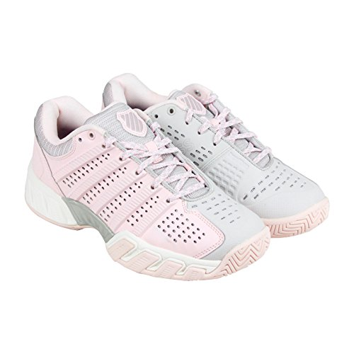 K-Swiss Women's Hypercourt Express Tennis Shoe, Mauve Chalk/Wind Chime, 8 M US