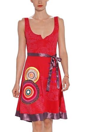 desigual robe femme rouge l v tements et accessoires. Black Bedroom Furniture Sets. Home Design Ideas