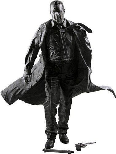 Sin City Series 1 Hartigan (Black and White) Action Figure - 1