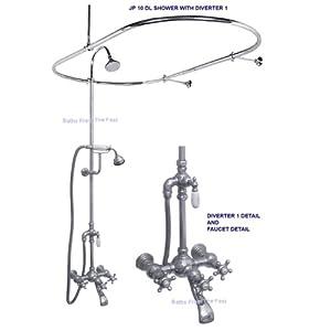 CLAWFOOT BATHTUB SHOWER ENCLOSURES Bathroom Design