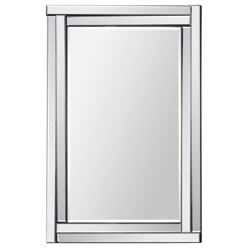 Ren-Wil Mt1285 Ava Wall Mount Mirror By Jonathan Wilner, 35 By 24-Inch front-835672