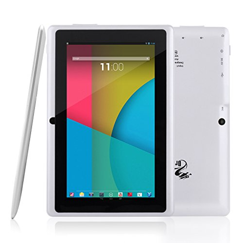 For Sale! Dragon Touch® Y88X 7'' Quad Core Google Android 4.4 KitKat Tablet PC, Dual Camera, HD 102...