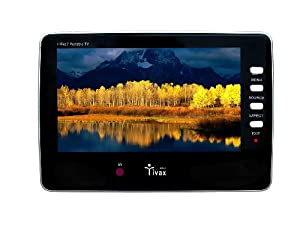 Tivax HiRez7 Portable 7-Inch Digital Widescreen TV (2009 Model)