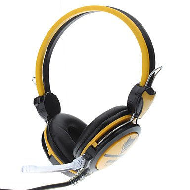 Headphone - Ergonomic Hi-Fi Headphone With Microphone For Gaming & Skype