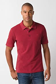 Short Sleeve Vintage Washed Polo Shirt