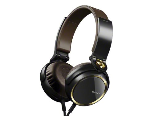 Sony Mdr-Xb600/N Gold | Extra Bass Headphones (Japanese Import)