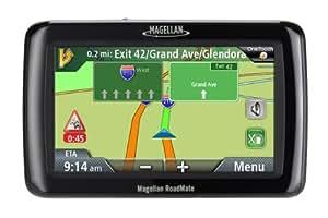 Magellan RoadMate 2045 4.3-Inch Widescreen Portable GPS Navigator with Lifetime Traffic