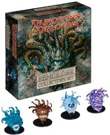 WOTC Dungeons & Dragons Miniatures Beholder Collector's Set