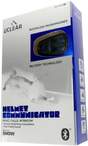 Uclear Hbc120 Snow Sports Helmet Communicator Bluetooth Headset