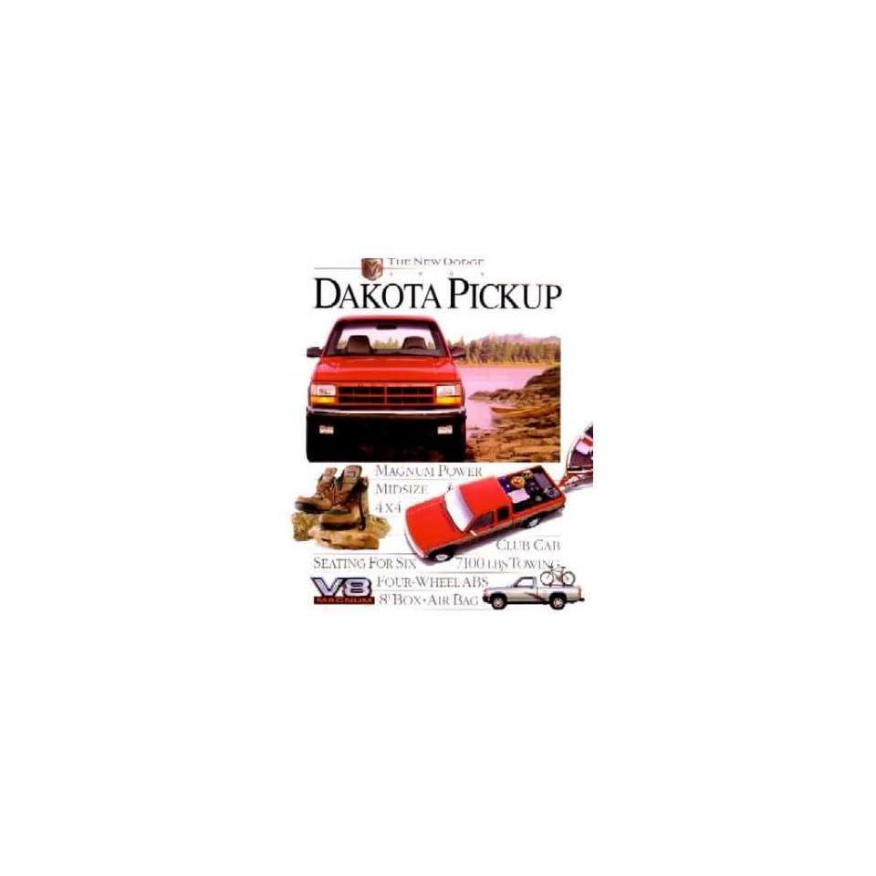 1995 Dodge Dakota Sales Brochure Literature Book Features Options Colors Specs Automotive