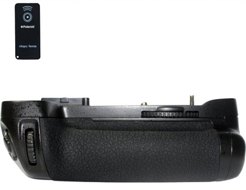 Polaroid Wireless Performance Battery Grip For Nikon D600 Digital Slr Camera – Remote Shutter Release Included