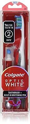 Colgate Optic White Toothbrush Plus Whitening Pen