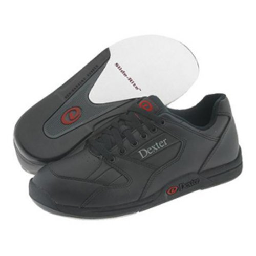 Dexter Ricky II Wide Width Bowling Shoes, Black, 8