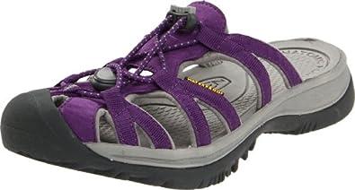 ecco紫色凉鞋