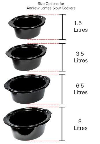 Andrew-James-15L-Premium-Schongarer-In-Rot-Mit-Sicherheitsglas-und-Entnehmbarer-Innerer-Keramikschssel-3-Temperaturstufen-2-Jahre-Garantie