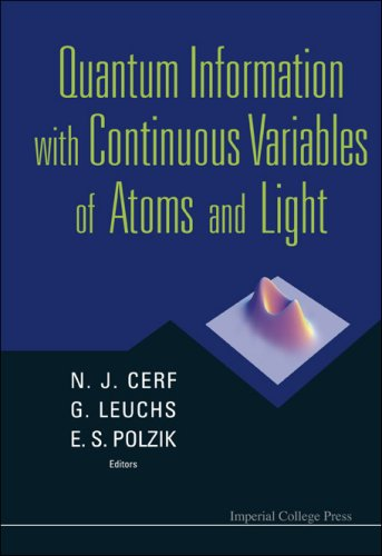 Quantum Information With Continuous Variables of Atoms and Light