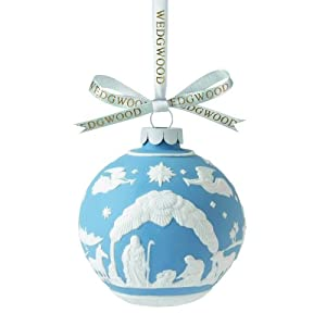 Wedgwood Nativity Scene Christmas Ornament