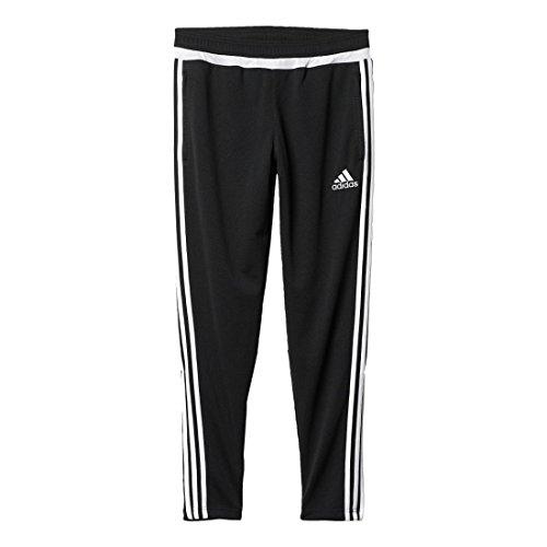 Adidas Mens Adidas Athletics Men's Tiro Training Pant, Black/White, Large