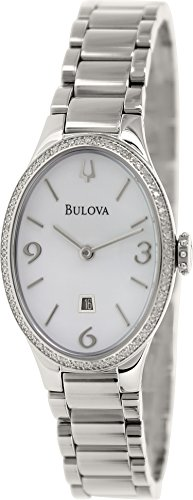 Bulova Women'S 96R192 Analog Display Analog Quartz Silver Watch