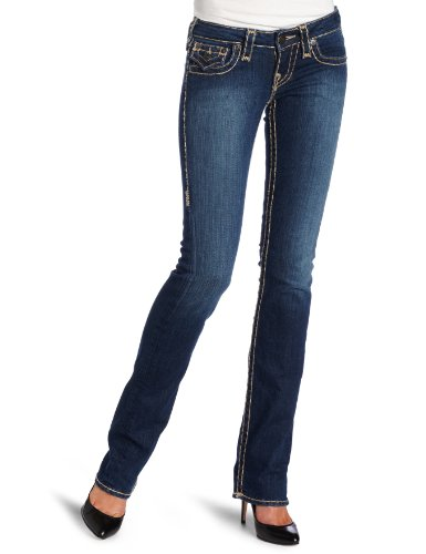 True Religion Women's Billy Chestnut Super T Jean