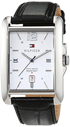 Tommy Hilfiger Herren-Armbanduhr Analog Quarz Leder 1791200 thumbnail