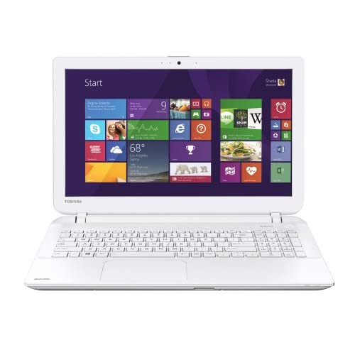 Toshiba Satellite L50D-B-136 15.6-inch Notebook (White) - (AMD A8-6410 2.0GHz, 8GB RAM, 1TB HDD, Windows 8.1,...