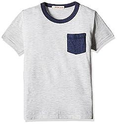 Fox Baby Boys' T-Shirt (Stone Melange_12-18 M_327607)