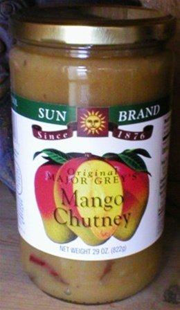 Sun Brand Original Major Grey's Mango Chutney (29 ounce jar)