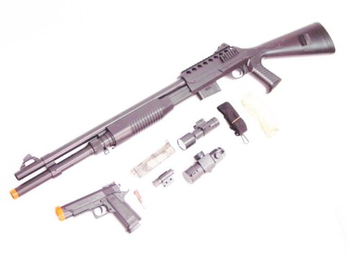 108: FULL SIZE PUMP SHOTGUN AIRSOFT REPLICA MODEL 