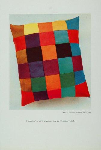 1926-color-cushion-pillow-red-green-blue-print-set-original-print