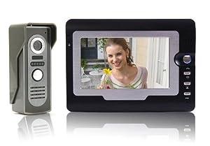 amzdeal® 7 Zoll Video Türsprechanlage Gegensprechanlage  Kundenberichte und weitere Informationen