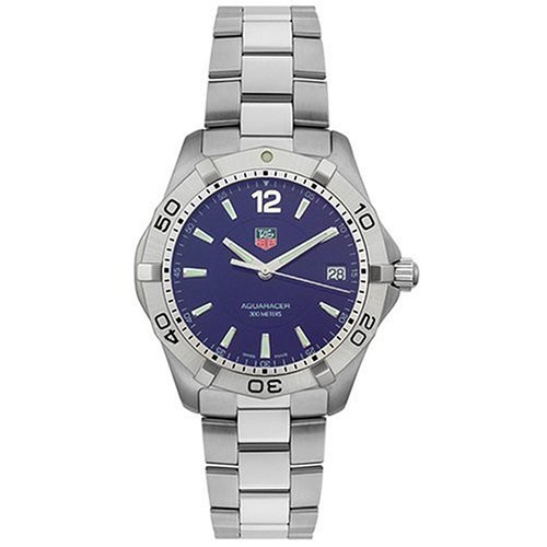 TAG Heuer Men's WAF1113.BA0801 2000 Aquaracer Quartz Watch