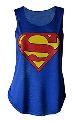 MyMixTrendz - Womens Superman Superhero Print