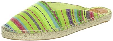 Nine West Women's Opps Espadrille,Green Multi Fabric,8 M US