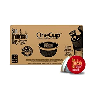 San Francisco Bay Coffee, Fogchaser, 120 OneCup Single Serve Cups