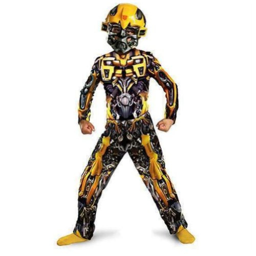 Transformers Boys Bumblebee Muscle Costume