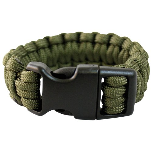 Mil-Tec Paracord Wrist Band 15Mm Olive Size S