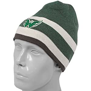 Reebok Washington Capitals Kelly Green-Natural St. Patrick's Day Cuffless Knit Beanie