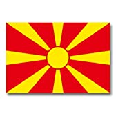 世界の国旗ポストカードシリーズ <ヨーロッパ> マケドニア旧ユーゴスラビア共和国 Flags of the world POST CARD <Europe> Former Yugoslav Republic of Macedonia