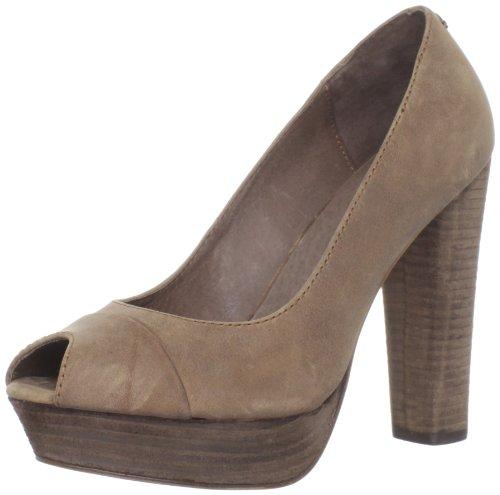 Diesel Women's Cuir Desir Montsouris Leather Cocoa Brown Open Toe Y00488PR080T2164 7 UK, 40 EU