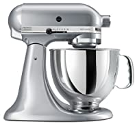 KitchenAid KSM150PSMC 5 Qt. Artisan Series with Pouring Shield - Metallic Chrome