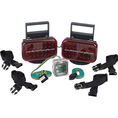 Wireless Magnetic-Mount Tow Lights