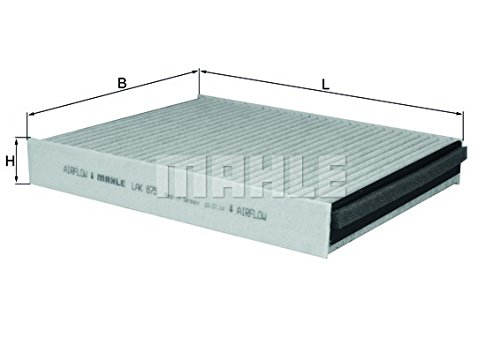Filter, Innenraumluft MAHLE KNECHT LAK 875