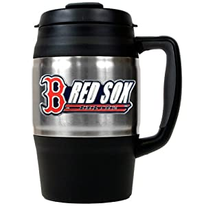 MLB Boston Red Sox Macho Travel Mug, 34-Ounce by Great American Products