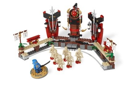 410YprMiXBL Cheap Price LEGO Ninjago Exclusive Special Edition Set #2519 Skeleton Bowling Includes Jay Dragon Ninja Mini Figure Spinner!