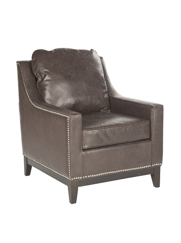Safavieh Colton Club Chair, Antiques Brown