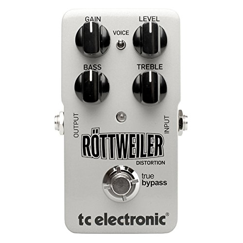 Tc Electronics 960730001 Rottweiler Distortion Guitar Distortion Effect Pedal