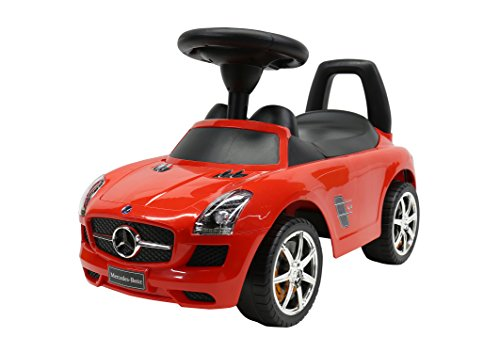 Liscensed Mercedes-Benz Push Ride on Car for Kids Baby Racer Red (Benz Car For Kids compare prices)