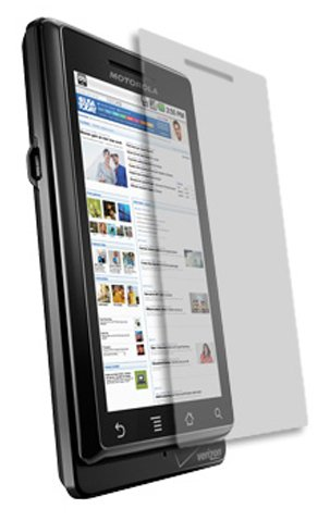 Motorola Droid Screen Protector, Skinomi TechSkin Full Coverage Screen Protector for Motorola Droid Clear HD Anti-Bubble Film