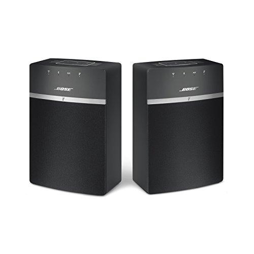 Pack Duo enceintes sans fil Bose SoundTouch 10 - Noir